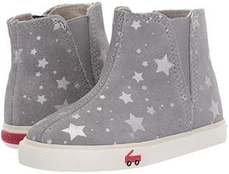 See Kai Run Kids Keegan (Toddler/Little Kid) (Gray Suede Stars) Girl's Shoes