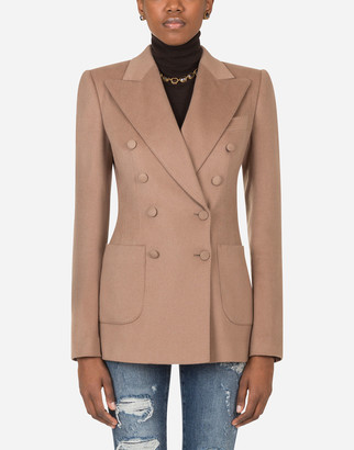Dolce & Gabbana Double-Breasted Cashmere Jacket