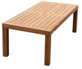 Darion Teak Dining Table Rosecliff Heights