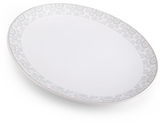 Mikasa Avery Floral Oval Platter