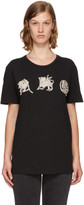 Alexander McQueen Black Mythical Logo T-Shirt