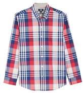Cutter & Buck Cooper Non-Iron Plaid Sport Shirt