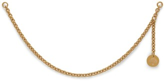 Mulberry Long Chain For Initials Gold Brass
