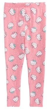 Hello Kitty Little Girls Dot Leggings