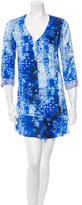 Rory Beca Printed Silk Mini Dress w/ Tags