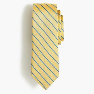 J.Crew Striped silk tie