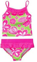 Carter's 2-Piece Swimsuit with Neon Accents