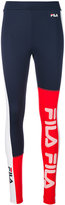 Fila colour block logo leggings