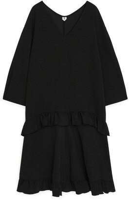 Arket Oversized Frill Dress