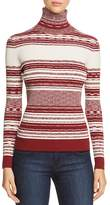 Tory Burch Julie Ribbed Turtleneck Sweater