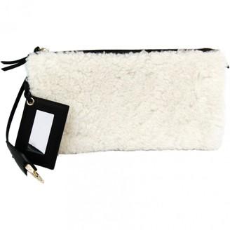 Balenciaga White Leather Clutch bags