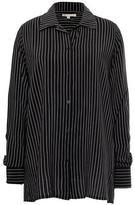 Gold Hawk Pin Stripe Long Sleeve Shirt