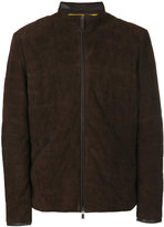 Canali padded jacket - men - Goat Skin/Polyester - 50