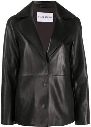 Stand Studio boxy fit oversized collar jacket