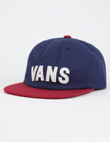Vans Tag Unstructured Mens Strapback Hat