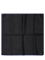 Lanvin Polka Dot Print Twill Pocket Square