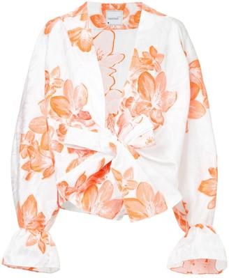 Bambah floral kimono shirt