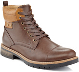 Brown Accent Lace-Up Boot - Men