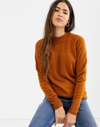 B.young round neck jumper-Brown