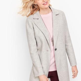 Talbots Double Face Wool Jacket