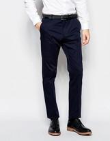Selected Wedding Suit Pants in Slim Fit