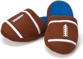 Brown & Blue Football Slipper