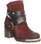 Fly London Lok Strap Ankle Boots