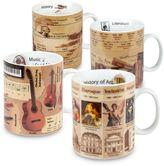 Konitz Mugs of Knowledge (Set of 4)