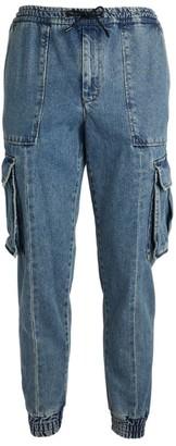 Juun.J Denim Cargo Trousers