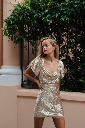 Ranna Gill Allie Sequin Mini Dress