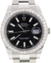Rolex Datejust II 116300 Stainless Steel & Diamond 41mm Watch