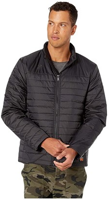 Timberland Mt. Washington Insulated Jacket Modern Fit (Jet Black) Men's Clothing