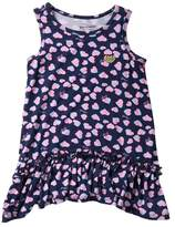 Juicy Couture Heart Print Dress (Toddler Girls)