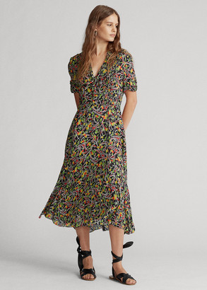 Ralph Lauren Floral Short-Sleeve Dress