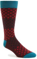 Ted Baker Helium Organic Cotton Blend Socks