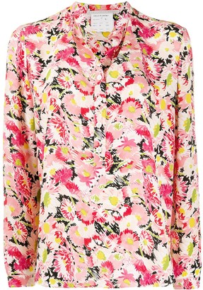 Stella McCartney Floral Print Buttoned Shirt