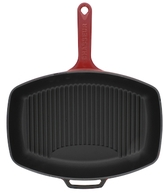 """12"""" French Enameled Grill Pan"""