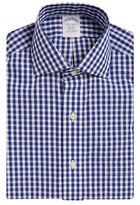 Brooks Brothers Non-Iron Gingham Cotton Dress Shirt