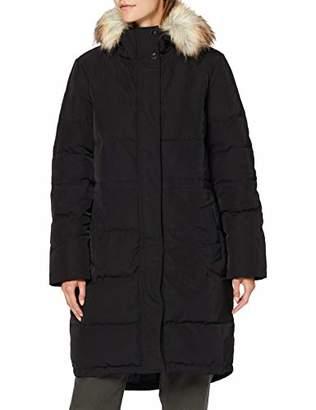 Vila NOS Women's Vicalifornia New Down Coat/su-noos Black, (Size: )
