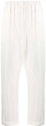 P.A.R.O.S.H. Elasticated Cropped Leg Trousers