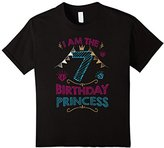 Kids Birthday shirts for girls - Age 7