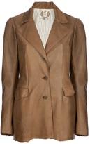 Nigel Preston & Knight 'Gloving' leather riding jacket