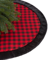 Holiday Lane Red and Black Buffalo Plaid Tree Skirt