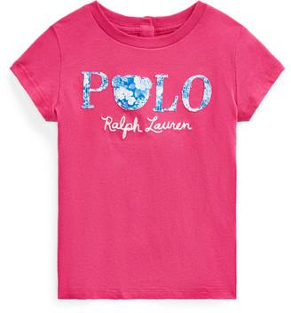 Ralph Lauren Floral Polo Jersey Tee