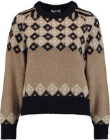 See by Chloe Argyle knitted sweater