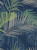 Boutique Jungle Glam Wallpaper – Blue/Green