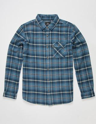 Rip Curl SWC Check Boys Flannel Shirt