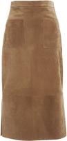 Cushnie et Ochs Suede Odessa Skirt