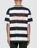10.Deep S&F Striped S/S T-Shirt