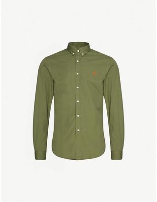 Polo Ralph Lauren Logo-embroidered cotton shirt